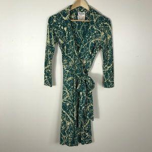 Vintage 70s Diane Von Furstenberg Wrap Dress